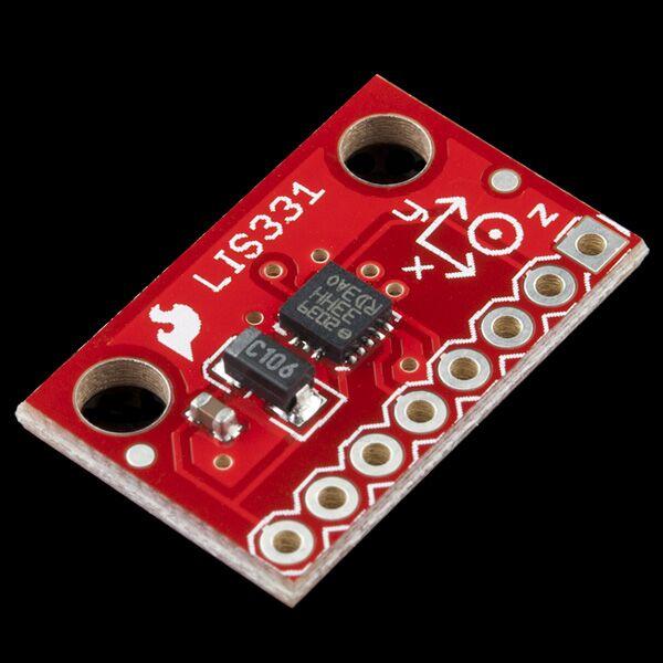 SparkFun Triple Axis Accelerometer Breakout - LIS331